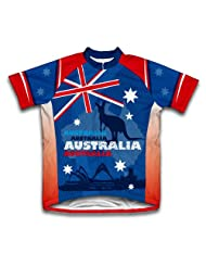 Australia Kangaroo Short Sleeve Cycling Jersey for Women