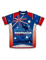 Australia Kangaroo Short Sleeve Cycling Jersey for Women