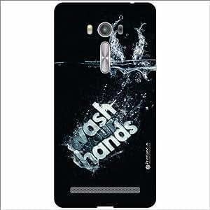 Asus ZenFone 2 Laser ZE550KL Back Cover - Silicon Wash Hands Designer Cases