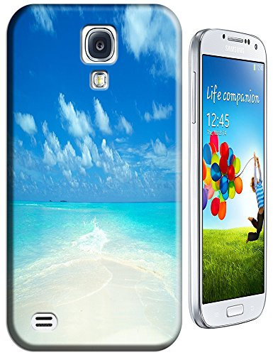 Cell Phone Case Beach Design Beautiful Sunshine Water Trees For Samsung Galaxy S4 I9500 No.5