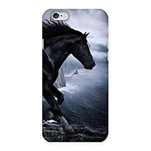 Gorgeous Premier Black Horse Back Case Cover for iPhone 6 6S