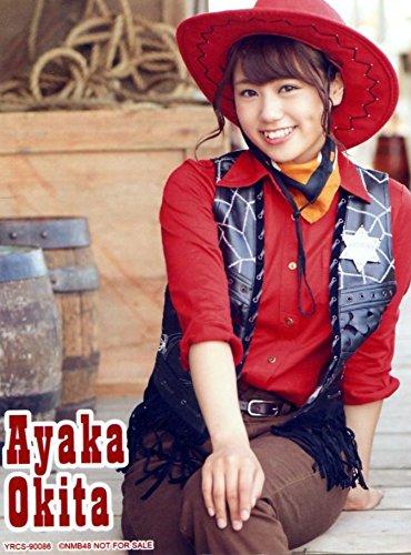 NMB48 公式生写真 ドリアン少年 通常盤封入特典 Type-B 【沖田彩華】
