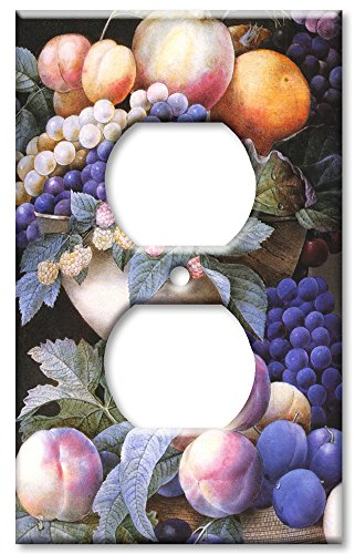 Outlet Cover Wall Plate - Redoute: Grapes in a Vase (Grape Light Switch Cover compare prices)