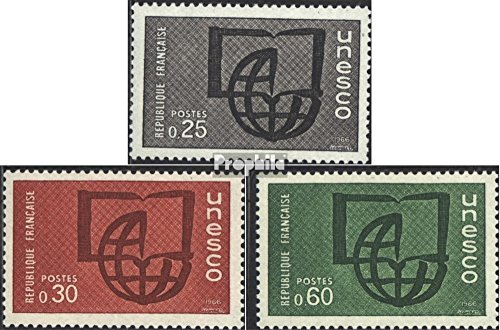 Frankreich DB6-DB8 (kompl.Ausg.) postfrisch 1966 Unesco (Briefmarken für Sammler)