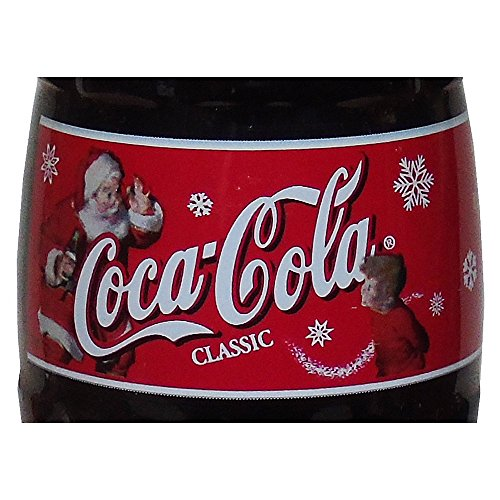Christmas 2000 Santa with Little Boy (2/3) Coca-Cola Bottle (Coca Cola Holiday Soda Bottle compare prices)