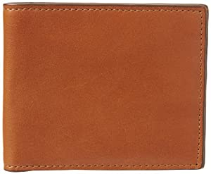 Jack Spade Mill Leather Bill Holder Wallet,Tobacco,One Size