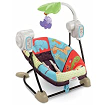 Big Sale Best Cheap Deals Fisher-Price Space Saver Swing and Seat, Luv U Zoo
