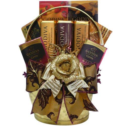 Art of Appreciation Gift Baskets Containing Godiva