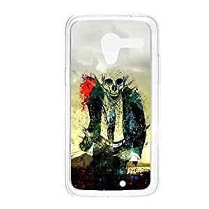 a AND b Designer Printed Mobile Back Cover / Back Case For Motorola Moto X (Moto_X_1550)