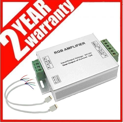 Ledjump Data Repeater Rgb Amplifier For Rgb Led Strips 12V 12A Max Output
