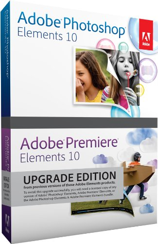Photoshop Elements 10 Adobe Premiere Elements 10 - Upgrade