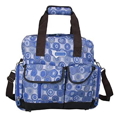 ecosusi large baby diaper bags backpack blue. Black Bedroom Furniture Sets. Home Design Ideas