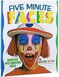 Snazaroo Face Paint Book - Five minutes faces