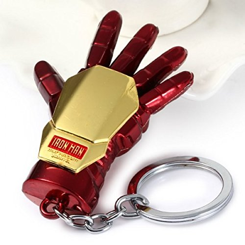 Iron Man Hand Keyring