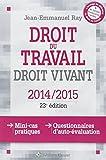 Droit du travail, droit vivant, 2014/2015 : Mini cas pratiques,  questionnaires d'auto-évaluation