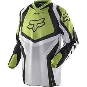 Fox Racing HC Race Men's Motocross/Off-Road/Dirt Bike Motorcycle Jersey - Green / Small
