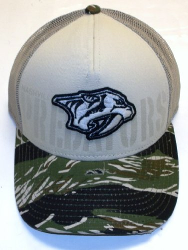 Nashville Predators Reebok Meshback Trucker Camo Hat Cap at Amazon.com