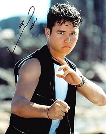 JOHNNY YONG BOSCH as The Black Power Ranger - Mighty ... Johnny Yong Bosch Black Ranger