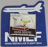 水樹奈々 【LIVE FLIGHT 2014】 ピンズ 長野会場限定