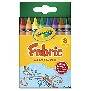 Crayola 8-Count Fabric Crayons