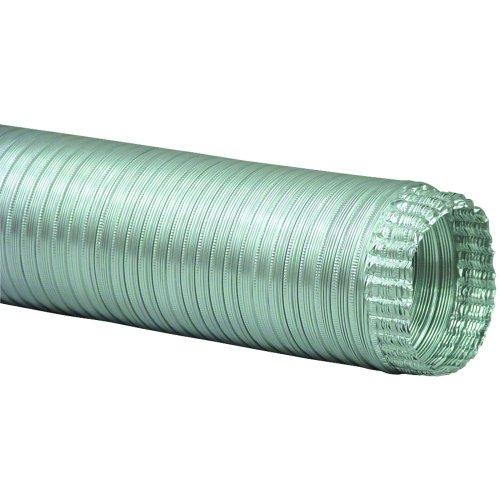 """A038/16 Semi-Rigid Flexible Aluminum Duct (3"""" X 8') front-62400"""