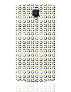 PosterGuy OnePlus 3 Case Cover - Stroke Pattern | Designed by: Designer Chennai
