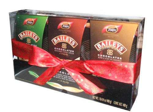 Turin Liquor Filled Chocolates Baileys Irish Cream Christmas Holiday Ornament Holiday Gift Pack