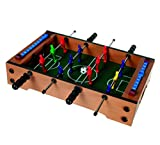 Great Fun, MINI Table/Desk Top Football Game Table Kicker/Soccer, Great gift Idea for Birthdays & Christmas for the Football Enthusiast
