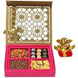 Chocholik Belgium Chocolates - Lovely Collection Of Almonds, Truffles, Butterscotch And Baklava Gift Box With... - B015SE1KBU