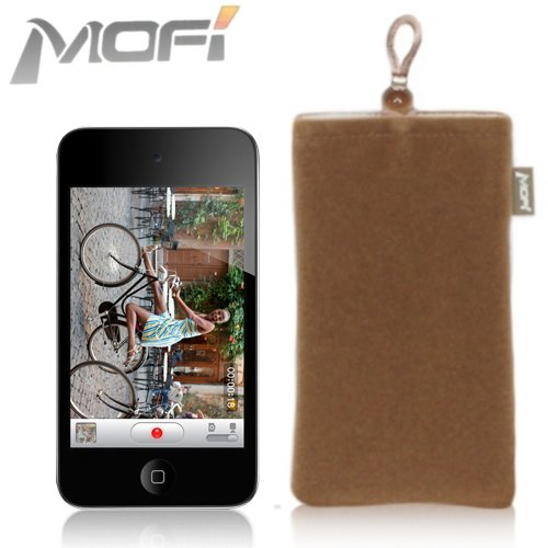 MOFI Fashion Pouch for Apple iPod Touch 4G - COFFEE