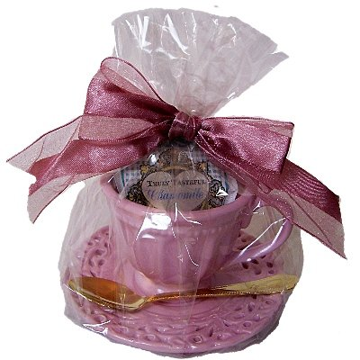 Party Wedding Shower on Wedding Souvenirs Decorations  Set 6 Pink Tea Party Shower Wedding