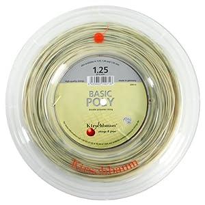 Buy Basic Poly 1.25 17G Reel Tennis String by Kirschbaum
