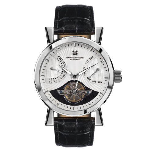 Mathis Montabon Montre Homme Retrograde Date blanche MM-24