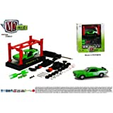 1971 Plymouth Cuda 440 (Green) M2 Machines 2013 Model Kit 1:64 Scale Die-Cast Vehicle... by M2 Machines