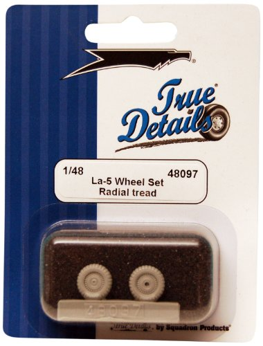 True Details La-5 Resin Wheel Set