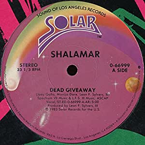 Shalamar dead giveaway official video