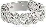 10k White Gold and White Diamond Ring (1/4 cttw, H-I Color, I1-I2 Clarity)