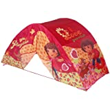 Dora the Explorer Twin Bed Topper Lighted Play Tent