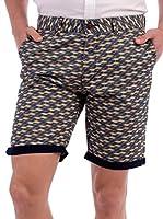 BLUE COAST YACHTING Geometrical Shorts Geometrical Shorts (BEIGE)