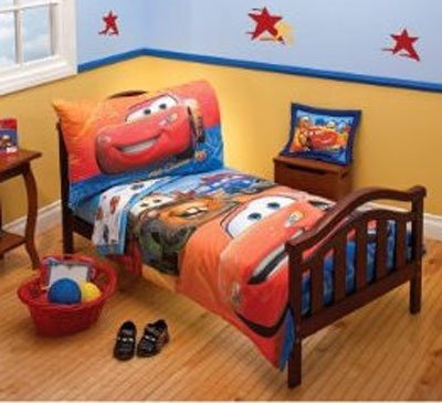 Buy Disney Cars 4 Pc Toddler Bedding Set – Catch My Drift for sale