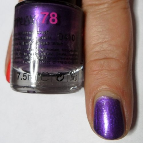 Smalto Per Unghie Debby Colorplay Shocking Colours 78 Viola