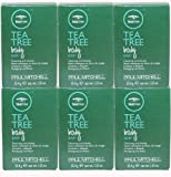 Paul Mitchell Tea Tree Body Bar Soap for Cleansing & Shaving, 1.25 Ounces (Pack of 6)