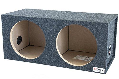 BBox E12D 12-Inch Dual Sealed Subwoofer Enclosure (Sealed Subwoofer Enclosure compare prices)