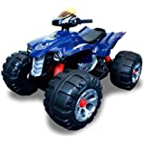 Brand New 12V Battery Powered Electric Kids Ride On Toy ATV Car 4 Wheel (Blue)