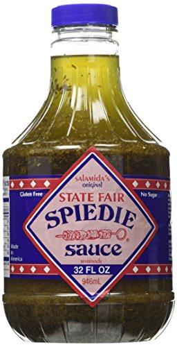 Salamida Original State Fair Spiedie Sauce and Marinade - 32 Oz