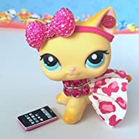 Littlest Pet Shop Lps Clothes Accessories Skirt Bow Outfit Lot *Cat Not Included