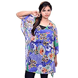 Etti Be Trendy Women's Kaftan (ES201_Purple_Free Size)