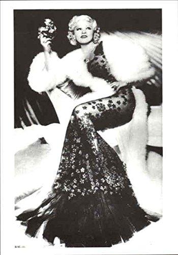 Mae-West-Celebrities-Original-Vintage-Postcard