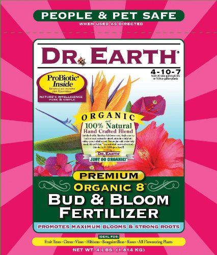 Dr. Earth 707P Organic 8 Bud & Bloom Fertilizer