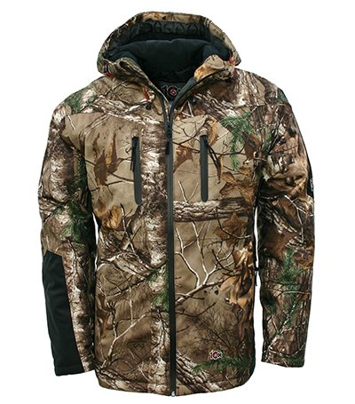 10X Men's Insulated Waterproof-Breathable Hooded Parka, Realtree Extra, X-Large